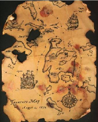 Mapa tesoro