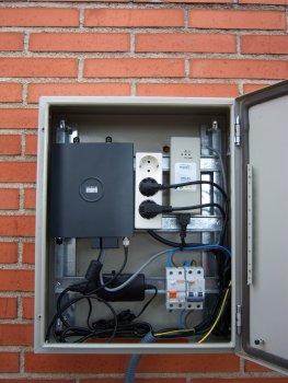 Caja pre-wimax wifi